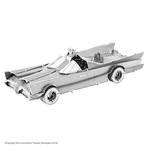 Batman Classic TV Series Batmobile <br> 3D Metal Model Kit