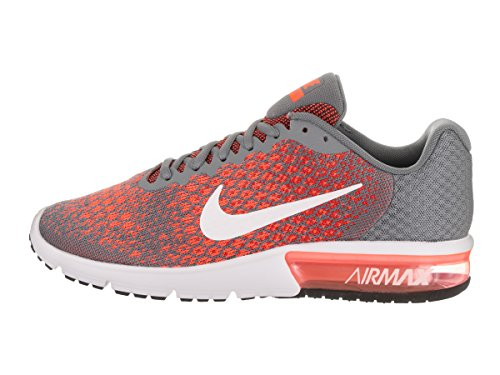 Nike Nike Air Max Sequent 2 - Cool Gray / White-max Orange-hyp
