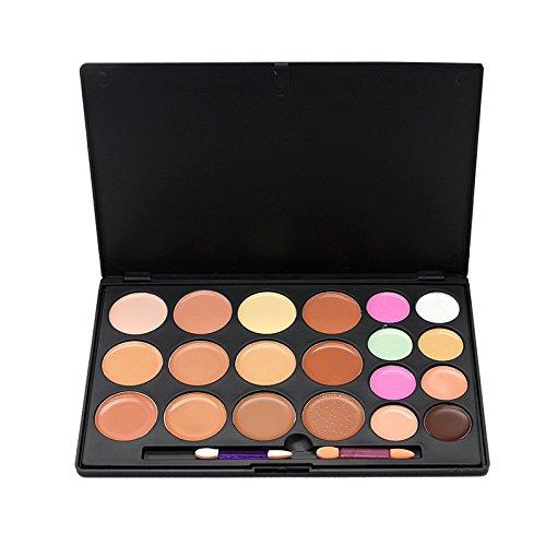 echoMi Face Makeup Palette Primer Repair Cream Concealer Moisturizing Makeup Foundation Cream(20 (Moisturizing Shadow Palette)
