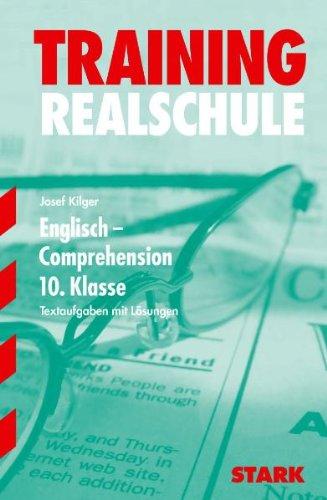 Training Englisch Realschule: Training Realschule - Englisch Comprehension 3/10. Kl.