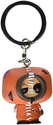 South Park- Llavero de Vinilo Zombie Kenny, Color Beige, marrón, metálico, Naranja (Funko 14204)
