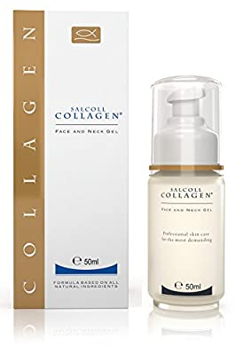 Anti Aging Marine Collagen Face & Neck Gel, All Natural, 50ml / 1.69oz
