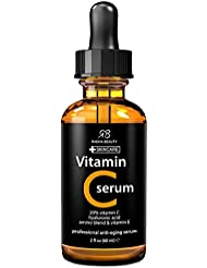 Radha Beauty Vitamin C Serum for Face, 2 fl. oz - 20%...