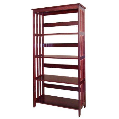 Wood 5Tier Bookshelves CHERRY