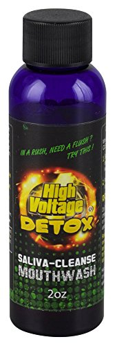 High Voltage Saliva Cleanser Mouthwash Mouth Body Detox Cleaner - Saliva Detox