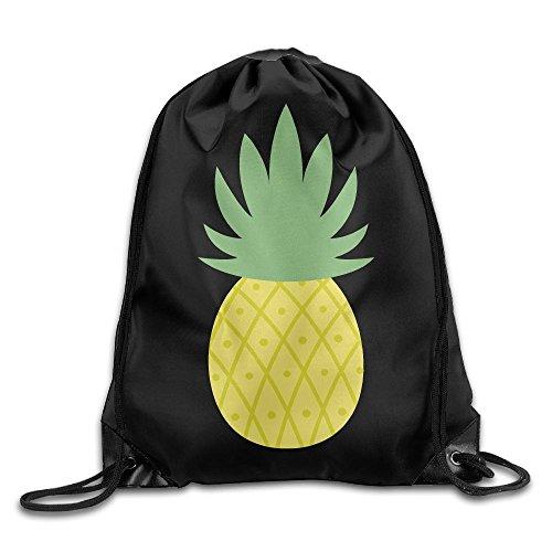 2018 Pineapple Drawstring Bags Jogging Backpack Sport Bag For Men & Women
