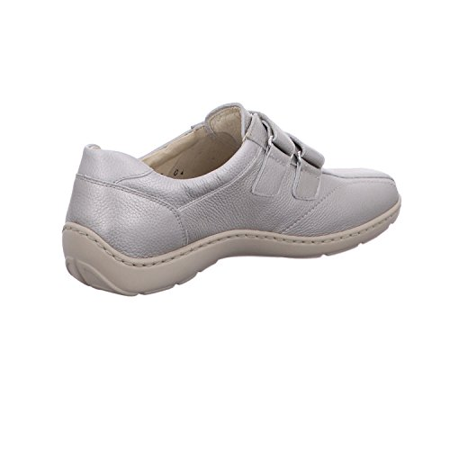 de Piel Pardo Zapatos 496301 118194 mujer de para Waldl ufer cordones f0wRvWYq