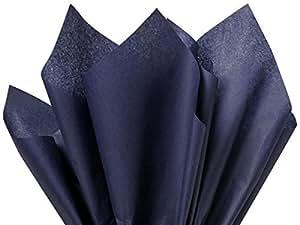 100 Ct Bulk Tissue Paper Dark Navy Blue 15 Inch X 20 Inch