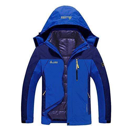 Giacca Arrampicata Cappotto Maniche Blau Caldo Taglie Invernale Antivento Trapuntata Comode Impermeabile Outdoor Lunghe 2 Uomo Abiti Da Escursionismo A Donna rPr1wqBn