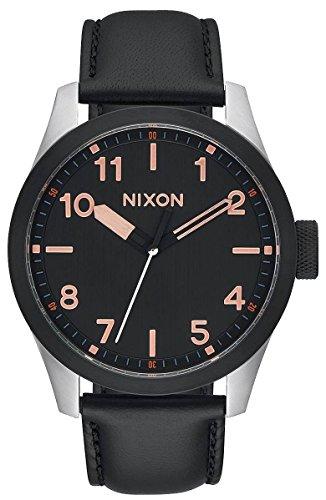 BlackRose-Gold-The-Safari-Leather-Watch-by-Nixon