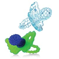 Razbaby RaZberry Teether - Light Blue/Blue 2-Pack