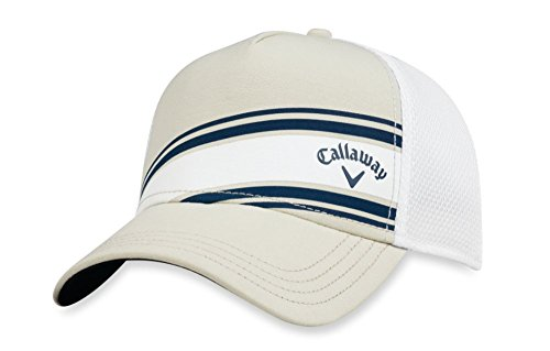 Callaway 2018 Stripe Mesh Fitted Cap Mens -