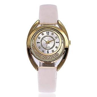 HZBIOK Reloj Mujer Relojes Mujer Reloj Mujer Reloj De Cuero con ...