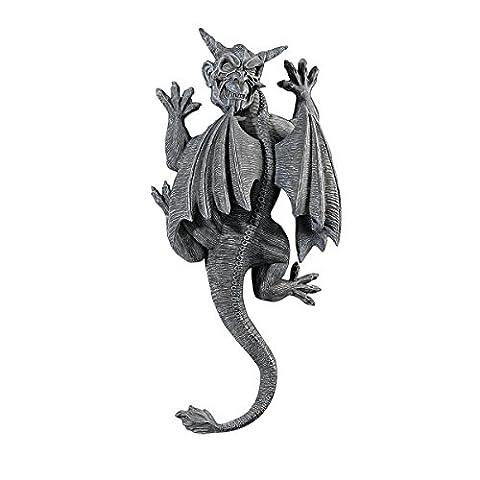 Design Toscano Gargoyle Demon on the Loose Wall Sculpture (Gargoyle Sticker)