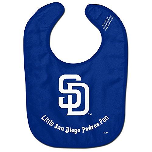 - MLB San Diego Padres Baby Bib, Team Color, One Size