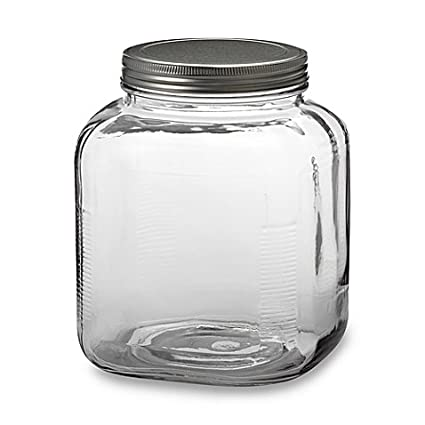 Amazon Com Anchor Hocking 1 Gallon Glass Cracker Jar Pack Of 1