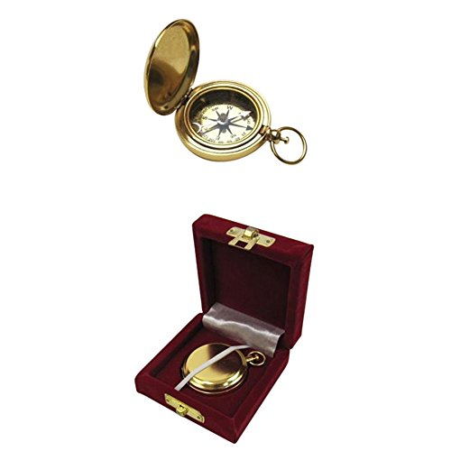 Armor Venue Gold Plated Dalvey Style Compass w/Gift Box Outdoor Camping Gear by Armor Venue