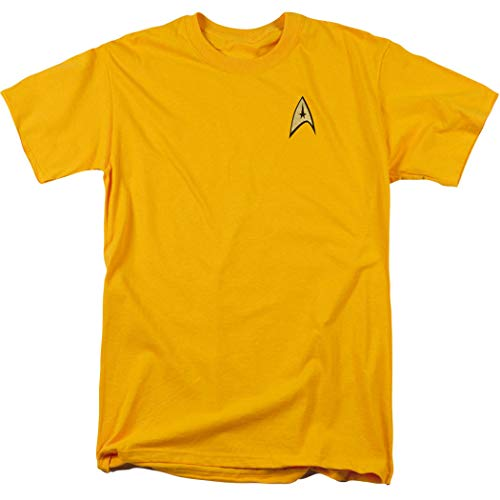 Star Trek Command Uniform Shirt w/Liquid Gold Ink (M) -