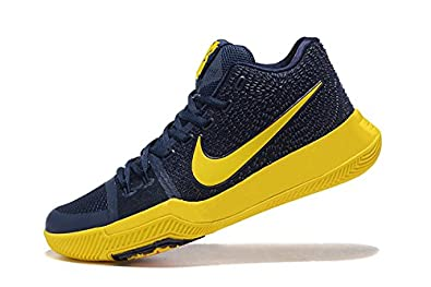 the best attitude 242e8 5353f Nike Kyrie 3 Ep Navy/Yellow Basketball Shoes: Buy Online at ...