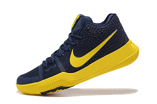 7fd4043c81bb Nike Kyrie 3 Ep Navy Yellow Basketball Shoes  Buy Online at Low Prices in  India - Amazon.in
