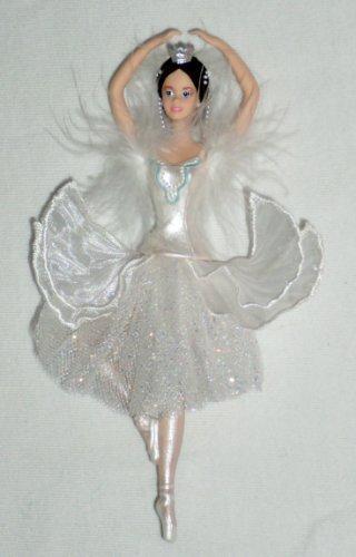 Barbie as the Swan Queen in Swan Lake (Caucasian) – Porcelain Ornament – (Avon Ornament)