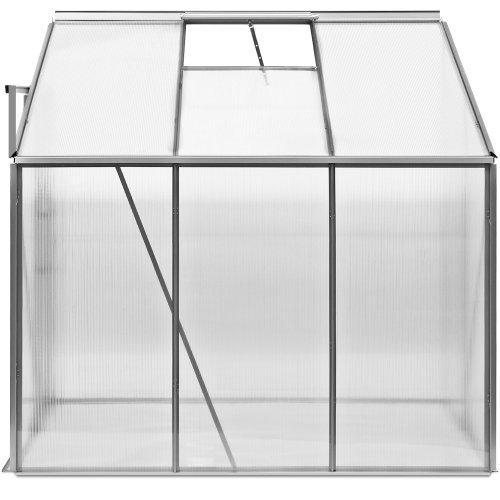 deuba beistell gew chshaus alu 2 30 m 190x120cm im test. Black Bedroom Furniture Sets. Home Design Ideas