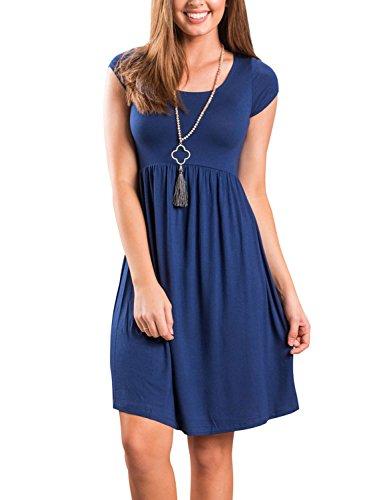 jean casual dress - 1