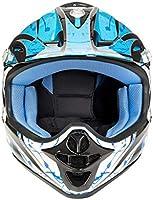 Casco de moto para niños, motocicleta, scooter, motocicleta, motocicleta, scooter MX, protección integral para todo el rostro, 4 colores diferentes