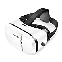 Pasonomi® Google Cardboard 3D VR Virtual Reality Headset 3D VR Glasses for 3D Movies and Games, Compatible with 4~6 inch Smartphones iPhone 6, Samsung note 5, s6 edge