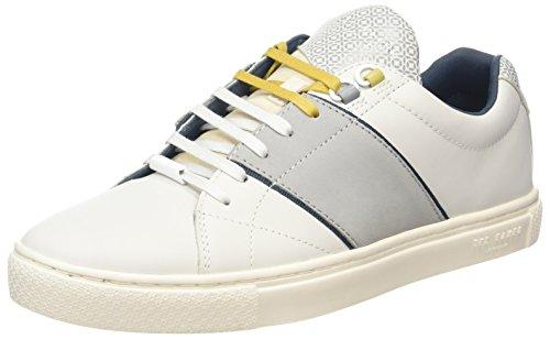 Sneaker Di Quana Maschile Da Uomo Di Panetteria Ted Bianca (bianca)