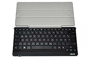 Bluetooth teclado con protección Cover, Alemán (de) para Asus Memo Pad FHD 10LTE/ME302KL Serie