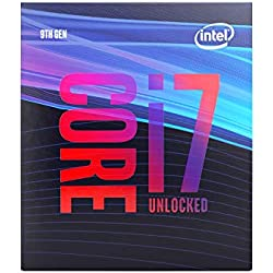 1 of Intel Core i7-9700K Desktop Processor 8 Cores up to 4.9 GHz Turbo Unlocked LGA1151 300 Series 95W