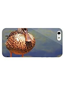 3d Full Wrap Case for iPhone ipod touch4 Animal Duck21