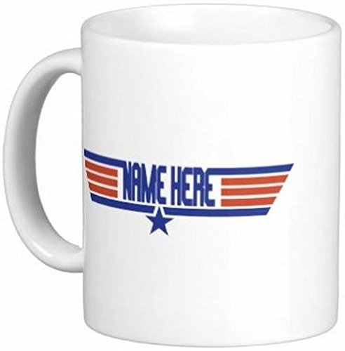 15 oz Personalized Top Gun Mug