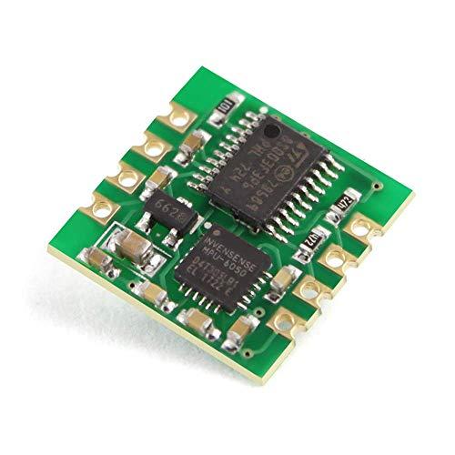 WT61 TTL Sensor IMU AHRS de alta precision de 6 ejes Ángulo de inclinacion de 2 ejes Inclinometro Acelerometro de 3 ejes + Giroscopio Modulo MPU6050 100HZ Filtro Kalman para PC/Android/MCU