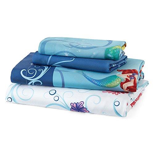 Disney The Little Mermaid 3-Piece Twin Bedsheet Set - Ariel