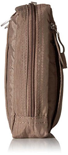 �C on Back on Loops Lightweight to Wander Belt with Baggallini Pocketed Portobello Multi Crossbody Bag Travel Wear Bag P7t7OwqB