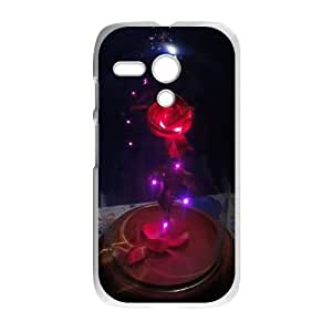 Disneys Beauty And The Beast Motorola G Cell Phone Case White TPU Phone Case SV_131315