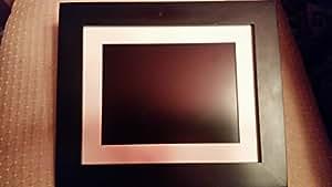 """VistaQuest - 8"""" Digital Photo Frame - Espresso"""