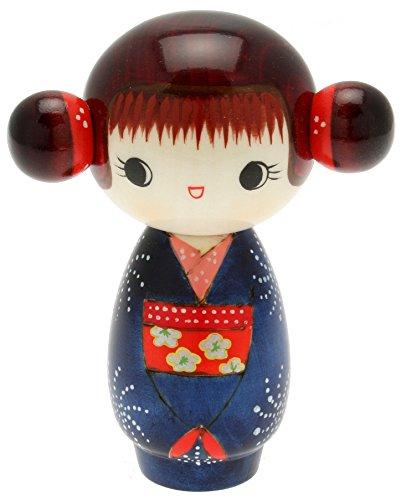 Usaburo Japanese Kokeshi Doll, Hoshi
