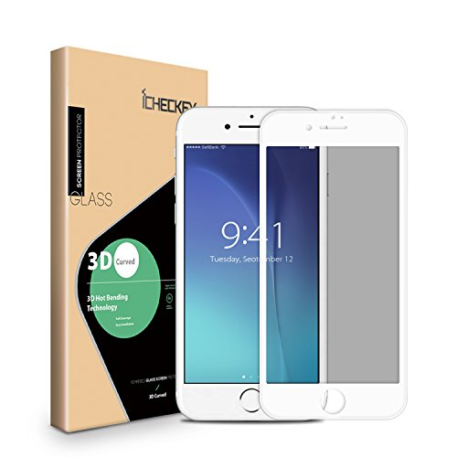 iPhone 7 Plus Privacy Screen Protector, ICHECKEY Anti-Spy An