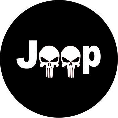 Dee-Type Spare Wheel Tire Cover Fit Jeep Wrangler,Liberty Classic Grill - Liberty Jeep Covers Tire