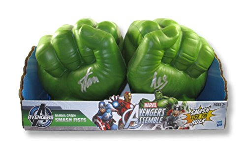 Stan Lee Signed Hulk Gamma Green Smash Fists Certified Authentic PSA/DNA COA