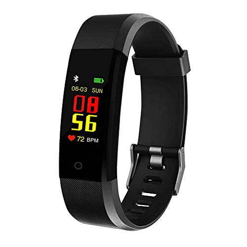 SHOPTOSHOP TM Smart Bluetooth Fitness Band Smart Watch Tracker with Heart Rate Sensor Activity Tracker Waterproof Body Functions Like Steps and Calorie Counter, Blood Pressure, OLED Touchscreen Price & Reviews