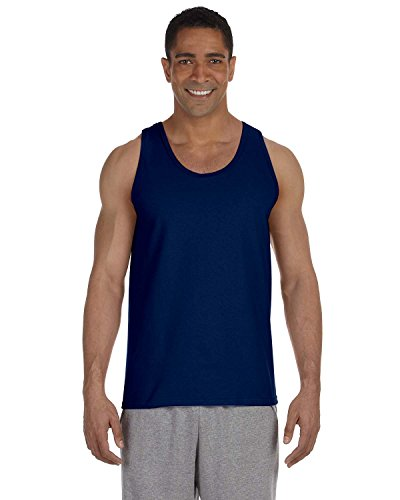 Gildan 2200- Classic Fit Adult Tank Top Ultra Cotton - First Quality - Navy - Large