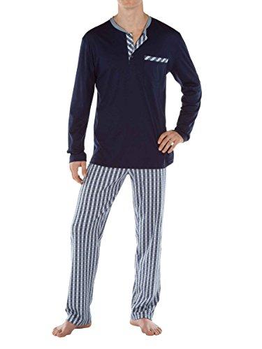 Calida mens 100% cotton knit pajamas SERENGETI 45562/449 (small, 449) by Calida (Image #1)