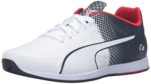 Hommes Blanc Pointe Puma Femme Bmw Chaussures Evospeed Pumas HxO4dznwqd