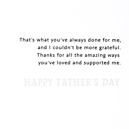 Hallmark Father's Day Greeting Card (You Step Up) Photo #3