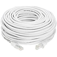 Cat6 200FT Networking RJ45 Ethernet Patch Cable Xbox \ PC \ Modem \ PS4 \ Router - (200 Feet) White