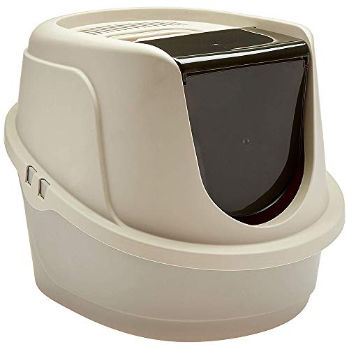 ppet Hooded Cat Litter Box